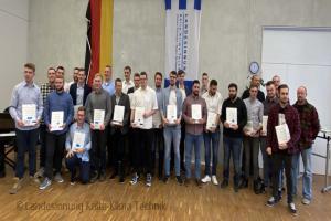 Freisprechungsfeier in Thüringen
