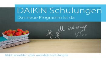Daikin: Neues Schulungsprogramm startet im November