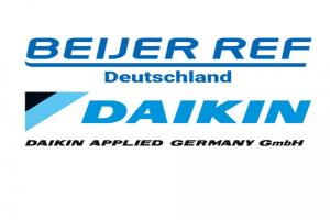 Vertriebskooperation zwischen Beijer Ref Deutschland und Daikin Applied Germany